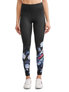 Placed Floral Legging Women's (Indigo/Caviar)