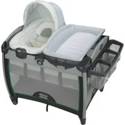 Graco Pack 'n Play Quick Connect Portable Bouncer Playard with Bassinet, Albie