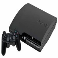 Refurbished Sony PlayStation 3 Slim 320 GB Charcoal Black Console