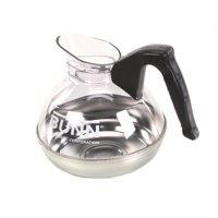BUNN Easy Pour 12-Cup Commercial Decanter, Black - Regular