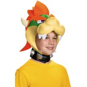 379a1824032 Nintendo Mario Brothers Childs Bowser Headpiece Hat Costume Accessory