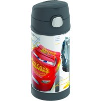 Thermos F4014CR6M Cars Funtainer Bottle With Durable Stainless Steel Interior