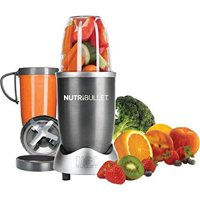 NutriBullet 8-Piece Magic Bullet Superfood Nutrition Extractor, Silver