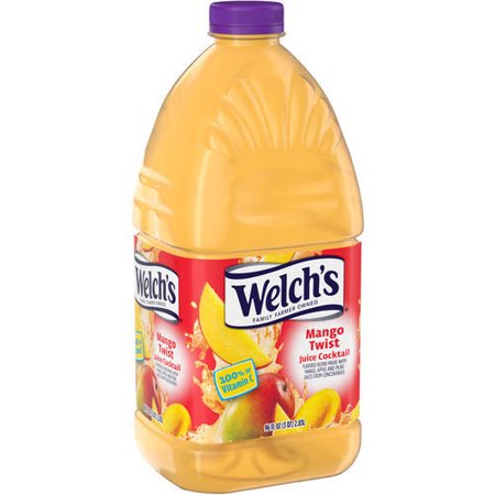 - Welch's Mango Twist Juice Cocktail, 96 Fl. Oz.