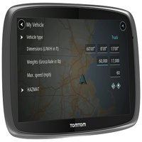 TomTom Trucker 600 Lifetime Trucker Maps and Traffic GPS