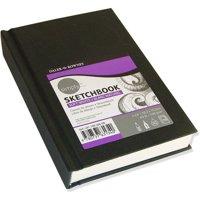 """Cachet Sketchbook 4"""" x 6"""" Soft White Paper Hardbound"""