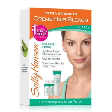 Sally Hansen Extra Strength Creme Hair Bleach For Face Body Kit