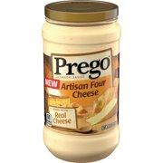 Prego Alfredo Sauce, Four Cheese, 14.5 oz. Jar