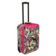 Paisley Print 20 Rolling Carry-On Luggage Suitcase - Pink Trim d8149d37c00ef
