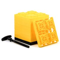 Cacmo 44514 FasTen Leveling Blocks with T-Handle, 2 x 2