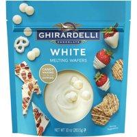 (2 Pack) Ghirardelli Chocolate White Chocolate Melting Wafers, 10 oz