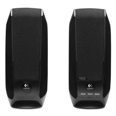Logitech S150 2.0 USB Digital Speakers, -