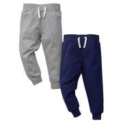 3d9a9e0da5e7 Grey and Blue French Terry Pants