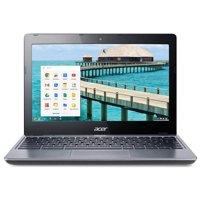 "Refurbished Acer C720-2848 11.6"" LED Chromebook Intel Celeron Dual Core 1.4GHz 2GB 16GB SSD"