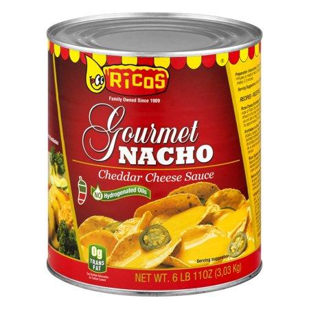 - Rico's Gourmet Nacho Cheese Sauce, 107 Oz