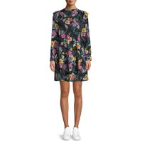 Time and Tru Tiered Ruffle Dress Womens Deals