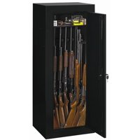 Stack-On Convertible 18-Gun Cabinet, Black