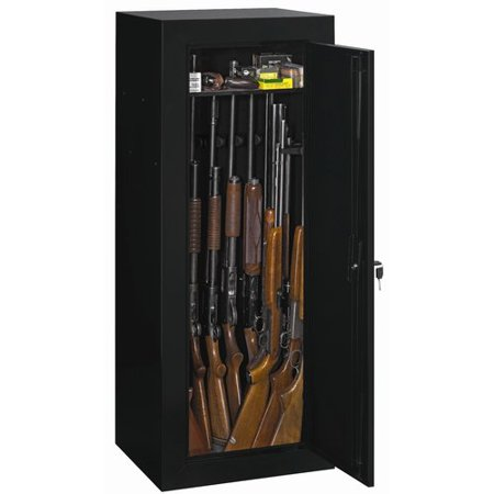 Stack-On Convertible 18-Gun Cabinet, Black (Best Gun Cabinet Under 200)