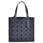 44f7751701b53c Grey Women Tote Bag Purse Handbag – PU Leather Shoulder Bag with Adjustable  Handle And Large