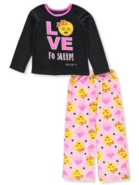 4d0d0d81a7 Product Image Emoji 2 Piece Pajama Sleep Set (Big Girl   Little Girl)