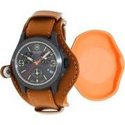 Swiss Army Victorinox Original LE Leather Chronograph Mens Watch 241594 1b64abd5ed
