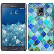 Mundaze Blue Stone Tiles Phone Case Cover for Samsung Galaxy Note edge