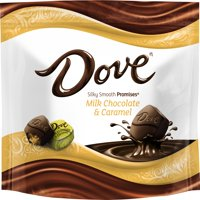 (3 Pack) Dove Promises, Caramel And Milk Chocolate Candy, 7.61 Oz