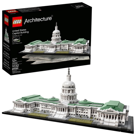 LEGO Architecture United States Capitol Building 21030 (Empire State Bulding)