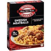 Boston Market Home Style Meals Swedish Meatballs, 13.1 oz