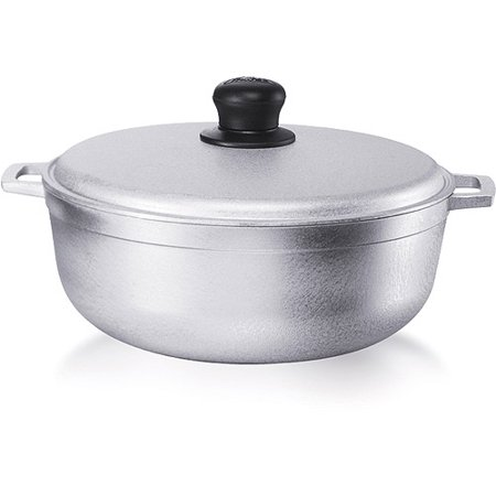 IMUSA USA 11.6 Quart Cast Aluminum Cauldron - Imusa Aluminum Caldero