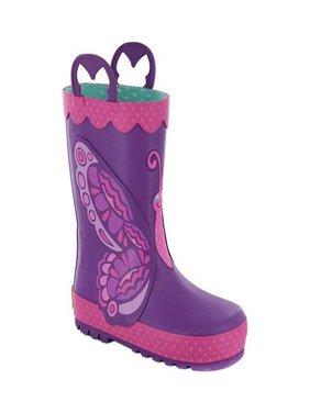 Western Chief Girls' Betty Butterfly Rain Boot