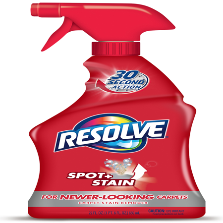 Resolve Carpet Cleaner Spray Spot & Stain Remover,