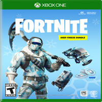 FORTNITE Deep Freeze Bundle, Warner, Xbox One, 883929662630