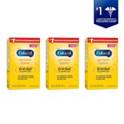 (3 Pack) Enfamil D-Vi-Sol Liquid Vitamin D Supplement for Infants, 1.67 fl oz (50 mL)