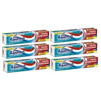 (6 Pack) Aquafresh Cavity Protection Fluoride Toothpaste, Cool Mint, 5.6 ounce