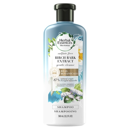Clairol Herbal Essence Herbal Shampoo - Herbal Essences Bio:Renew Birch Bark Extract Sulfate-Free Shampoo, 12.2 fl oz