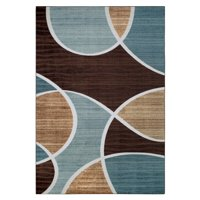 Better Homes and Gardens Geo Waves Textured Print Area Rug or Runner, Multiple Sizes and Colors