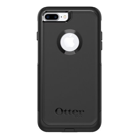 OtterBox Commuter Series Case for iPhone 8 Plus & iPhone 7 Plus, (Black Manhattan Cocktail Case)