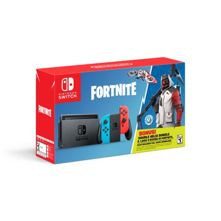 Nintendo Switch Fortnite Double Helix Bundle Gray Hacsap3c1