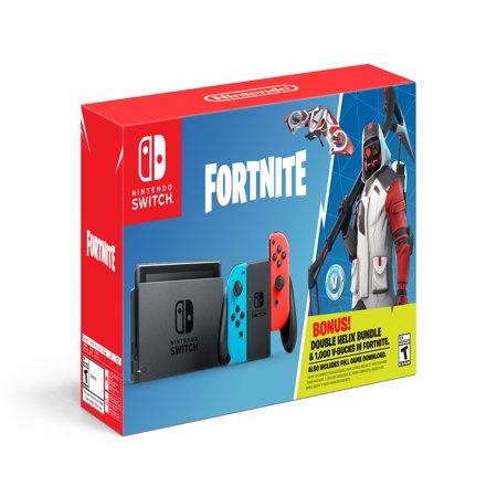 Nintendo Switch Fortnite Double Helix Bundle, Gray, HACSAP3C1