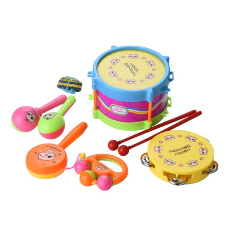 Smart Toys For Toddlers (Smart Novelty 6Pcs Kids Baby Drum Musical Instruments Band Kit Children)