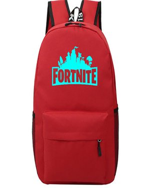 abc63b52f6e Product Image Game Fortnite Battle Royale Backpack Luminous Fortnite School  Bags Red