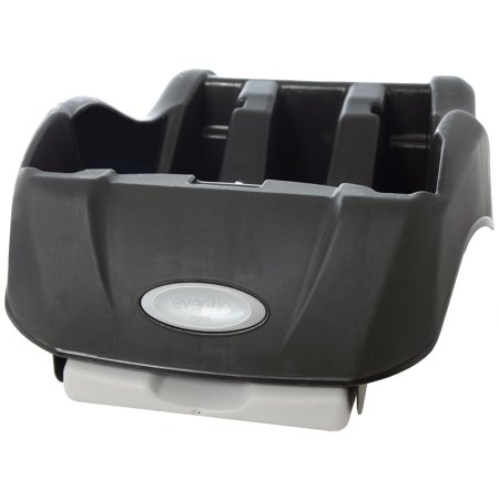 Flat Seat Base (Evenflo Embrace Infant Car Seat Base, Black)
