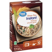 Great Value Instant Brown Rice, 28 oz
