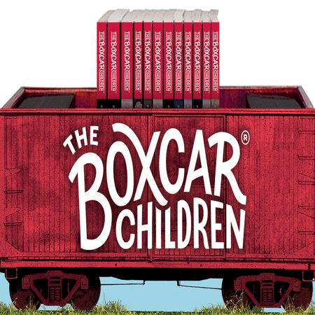 The Boxcar Children Bookshelf (Books #1-12) [With Activity Poster and Bookmark] (Paperback)](Halloween Bookmarks To Make)
