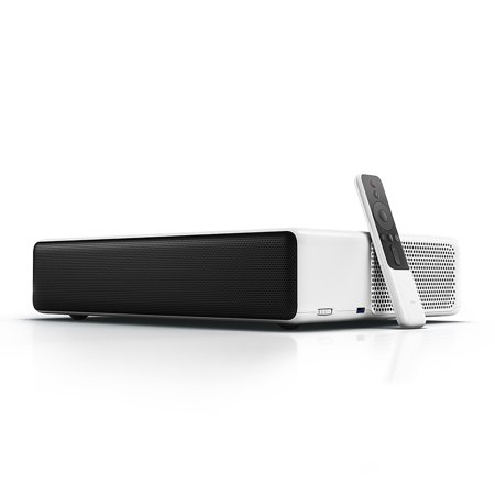 Xiaomi Mi Laser Ultra-Short Throw Projector 150 inch, Built-In Android TV, Google Assistant, Dolby Stereo
