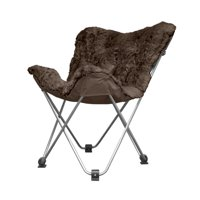 Cocoon Hair Faux Fur Butterfly Chair
