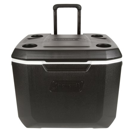Coleman 50-Quart Xtreme 5-Day Heavy-Duty Cooler with Wheels, Black](Walmart Ice Chest)
