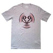 013da0ce Under Armour Men Charged Cotton Logo True Gray T Shirt Size XL