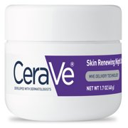 CeraVe Skin Renewing Night Face Cream for Softer Skin, 1.7 oz.